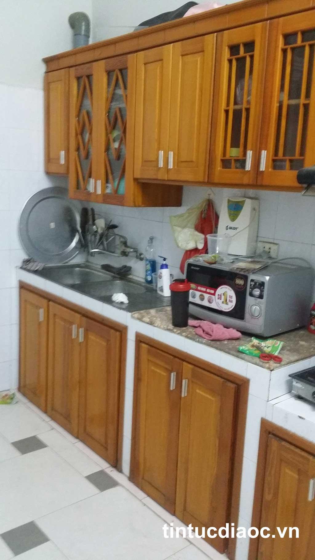 Phòng bếp nhà phố Tân Mai