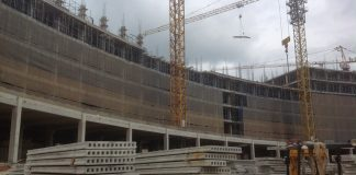 Dự án xây dựng bằng công nghệ thi công bê tông dự ứng lực
