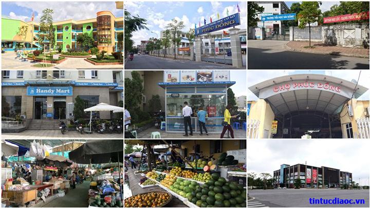 Tiện ích Chung cư Sài Đồng City