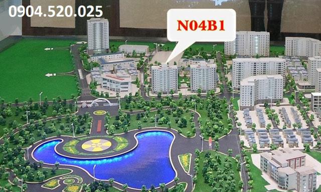Hình ảnh thực tế Chung cư N04b1 Dịch Vọng