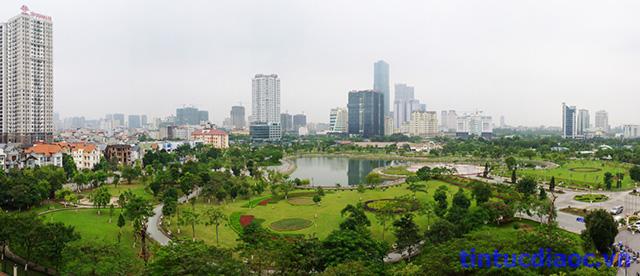 View Chung cư N04b1 Dịch Vọng
