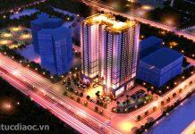 Dự án Tứ Hiệp Plaza về đêm